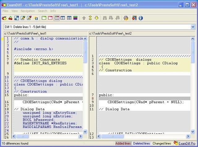 Visual File Comparison Tool – Lausdahl com